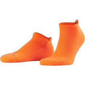 FALKE Cool Kick Sneakersocken, 37-38, Orange, Uni, 16609-803401