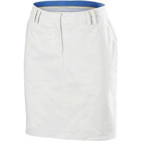 FALKE Damen Golf Rock, 42, Weiß, Baumwolle, 37727-286005