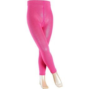 FALKE Active Warm Kinder Leggings, 122-128, Pink, Uni, Wolle, 13838-855004