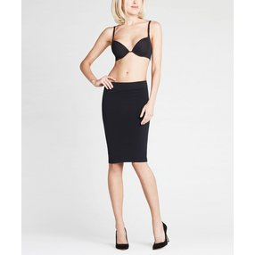 FALKE Tube Skirt Damen Rock, Onesize, Schwarz, Uni, 42296-300901