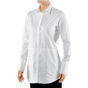 FALKE Damen Hemd, 36, Weiß, Uni, Baumwolle, 66003-200001