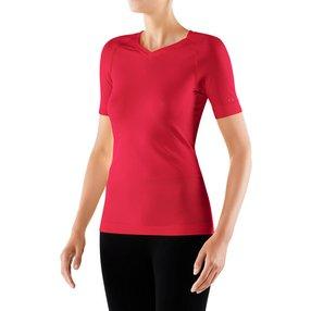 FALKE Damen Kurzarmshirt Cool, XL, Pink, Uni, 33241-880605