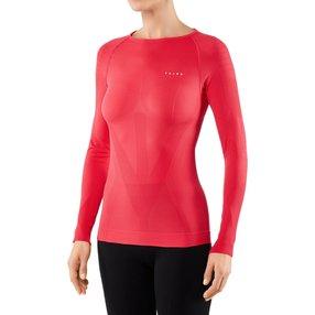 FALKE Damen Langarmshirt Warm, XL, Pink, Uni, 39111-880605