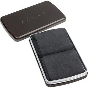 FALKE Airport 2-Pack Gift Box Herren Geschenkbox, 43-44, Grau, Uni, Schurwolle, 13015-308005