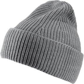 FALKE Mütze, Onesize, Grau, Uni, Schurwolle, 63013-375701