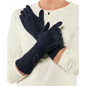 FALKE Light Handschuhe, L-XL, Blau, Uni, 37651-617703
