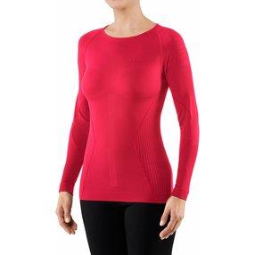FALKE Damen Langarmshirt Warm, L, Pink, 39136-880604