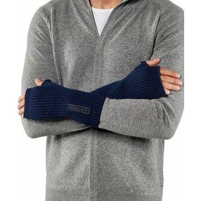 FALKE Herren Handschuhe, S-M, Blau, Struktur, Schurwolle, 63015-654202