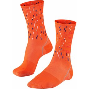 FALKE BC Impulse Peloton Biking Socken, 37-38, Orange, 16879-801801
