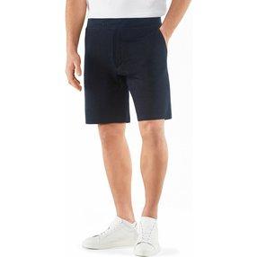 FALKE Herren Shorts, M, Blau, Uni, Leinen, 60075-643703