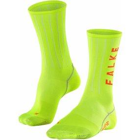 FALKE BC Impulse Stripe Biking Socken, 44-45, Gelb, Streifen, 16876-169004