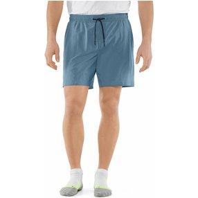 FALKE Herren Shorts, S, Blau, Uni, 61023-644301