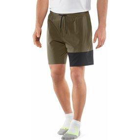 FALKE Herren Shorts, 3XL, Grün, Uni, 61022-783207