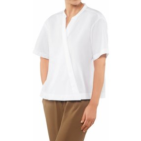 FALKE Damen Bluse, 44, Weiß, Baumwolle, 66015-200005