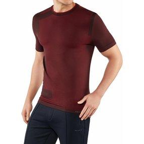FALKE Herren T-Shirt Rundhals, XS-S, Rot, Geometrisch, 61020-831801