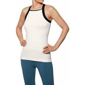 FALKE Damen Top, XL-XXL, Weiß, Uni, Baumwolle, 65021-204005