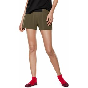 FALKE Damen Shorts, XXS, Grün, Uni, 65038-783200
