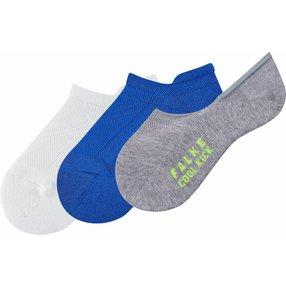 FALKE Cool Kick 3-Pack Kinder Socken, 31-34, Mehrfarbig, Uni, 12881-001004