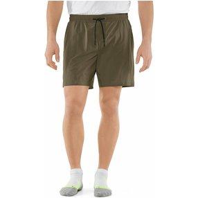 FALKE Herren Shorts, XL, Grün, Uni, 61023-783205