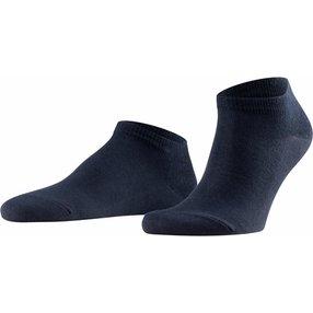 FALKE Family Herren Sneakersocken, 43-46, Blau, Uni, Baumwolle, 14626-637003