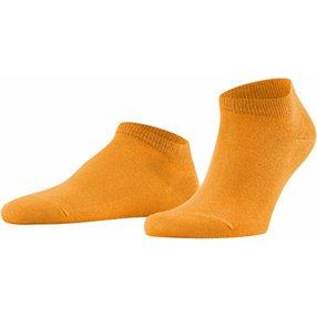 FALKE Family Herren Sneakersocken, 39-42, Orange, Uni, Baumwolle, 14626-821602