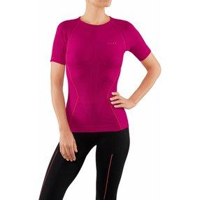 FALKE Damen Kurzarmshirt Warm, XS, Pink, Uni, 39113-828401