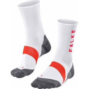 FALKE BC6 Racing Biking Socken, 44-45, Weiß, 16880-200104
