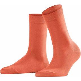 FALKE Cotton Touch Damen Socken, 39-42, Orange, Uni, Baumwolle, 47673-896102