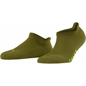 FALKE Cool Kick Damen Sneakersocken, 35-36, Grün, Uni, 46331-718608