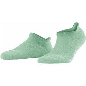FALKE Cool Kick Damen Sneakersocken, 37-38, Grün, Uni, 46331-718801