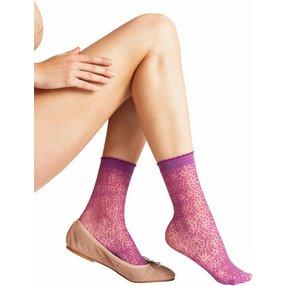 FALKE Danty Daisy 15 DEN Damen Socken, 35-38, Pink, Blumen, 41440-831701