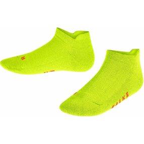 FALKE Cool Kick Kinder Sneakersocken, 23-26, Gelb, Uni, 12286-169002