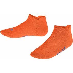 FALKE Cool Kick Kinder Sneakersocken, 31-34, Orange, Uni, 12286-803404