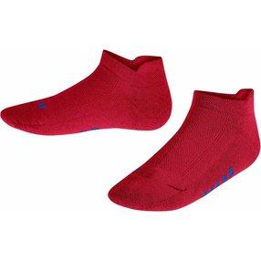 FALKE Cool Kick Kinder Sneakersocken, 27-30, Rot, Uni, 12286-815003