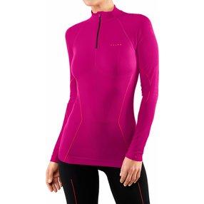 FALKE Damen Langarmshirt Warm, S, Pink, Uni, 39127-828402