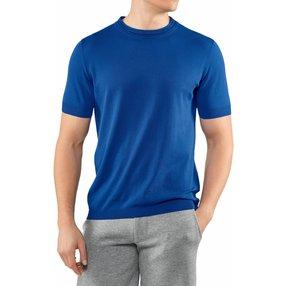 FALKE Herren T-Shirt Rundhals, S, Rot, Uni, Baumwolle, 60151-659502