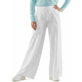 FALKE Damen Hose, XS, Weiß, Uni, Baumwolle, 64140-200001