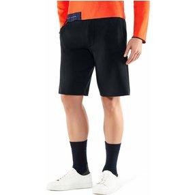 FALKE Herren Shorts, S, Blau, Uni, Baumwolle, 60147-643702