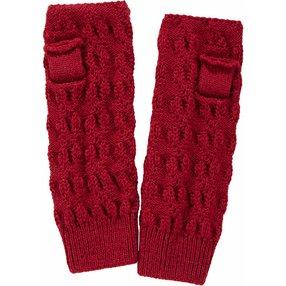 FALKE Wristlet Handschuhe, Onesize, Rot, Struktur, Alpaka, 67029-800301