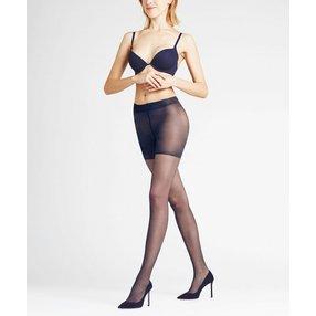 FALKE Shaping Panty 20 DEN Damen Strumpfhose, M-L, Blau, Uni, 40512-617903