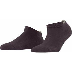 FALKE Relax Pads Damen Sneakersocken, 39-42, Braun, Uni, Baumwolle, 46312-849702