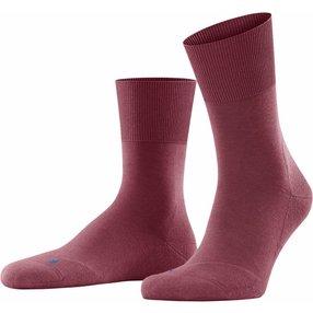 FALKE Run Socken, 44-45, Rot, Uni, Baumwolle, 16605-841304
