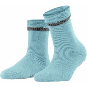 FALKE Cuddle Pads Damen Socken, 39-42, Blau, Uni, Baumwolle, 47540-669302