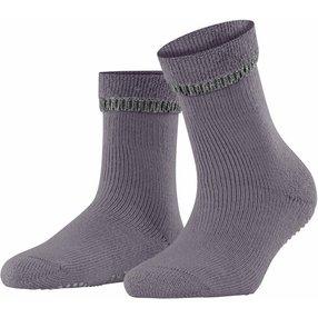 FALKE Cuddle Pads Damen Socken, 39-42, Grau, Uni, Baumwolle, 47540-849402