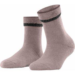 FALKE Cuddle Pads Damen Socken, 39-42, Rot, Uni, Baumwolle, 47540-849002