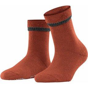 FALKE Cuddle Pads Damen Socken, 39-42, Orange, Uni, Baumwolle, 47540-882902