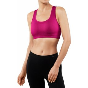 FALKE Madison Low Support Sport-BH, Damen, XL, Pink, Uni, 37465-828405