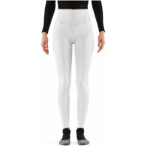 FALKE Damen Tights Maximum Warm, S, Weiß, Uni, 33038-286002