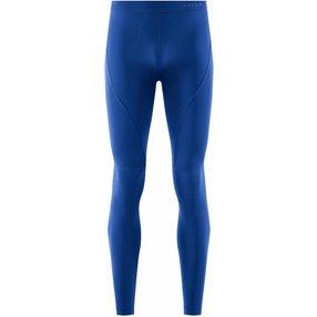 FALKE Herren Tights Warm, XL, Blau, Uni, 39616-671405