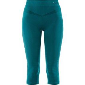 FALKE Damen 3/4 Tights Maximum Warm, XL, Blau, Uni, 33039-779105